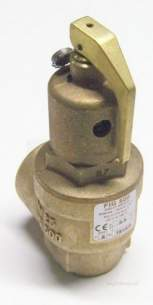 Nabic Safety Valves -  Nabic Safety Valve Fig 500 25mm 3.5 Bar