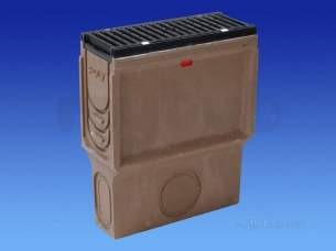 Channel Drainage -  Wavin Sump Unit -nw 150sks-0.5m 150sks900