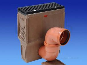 Channel Drainage -  Wavin Sump Unit-nw150sks-0.5m160 Tr