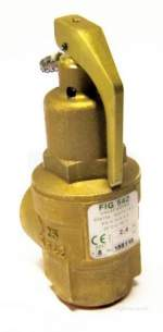 Nabic Safety Valves -  Nabic Safety Valve Fig 542 25mm 2.4 Bar