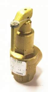 Nabic Safety Valves -  Nabic Safety Valve Fig 542 20mm 1.4 Bar