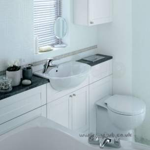 Ideal Standard Bathroom Furniture -  Ideal Standard Space E4648 750mm Bath Unit Wal