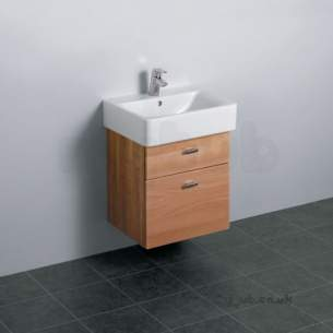 Ideal Standard Concept Furniture -  Ideal Standard Concept E6444uh W/h 450 Cube Unit Oak/wh