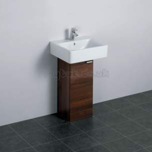 Ideal Standard Concept Furniture -  Ideal Standard Concept E6443uj Ped 300 Basin Unit Wnut/wh
