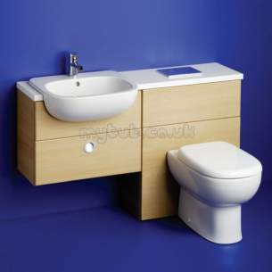Ideal Standard Jasper Morrison Furniture -  Ideal Standard Jasper Morrison 650 W/top For Wc/sc Wterazo