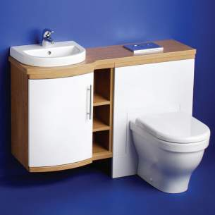 Ideal Standard Washpoint Furniture -  Ideal Standard Washpoint E6731 Wc Base Inc Cis Warm Oak