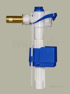 Ball Float Valves -  Pro Series Side Entry Fill Valve With 12.7 Mm Uk Heavy Duty Brass Shank
