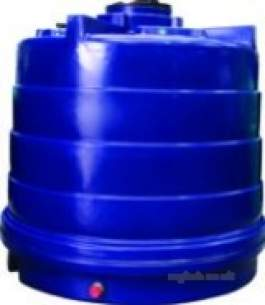 Titan Tanks Lids and Byelaw Kits -  Titan 3600l Vert Water Tank Non Potable
