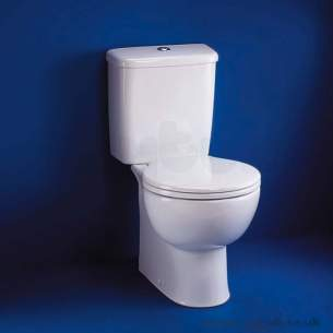 Ideal Standard Space -  Ideal Standard Space E7091 Wc Seat Plus Cover Only With Ss Hinge White