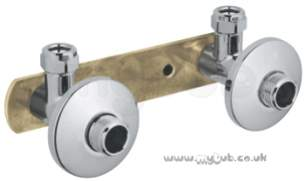 Grohe Tec Brassware -  Instal 150mm Brkt 18153 For W/mount Mixers