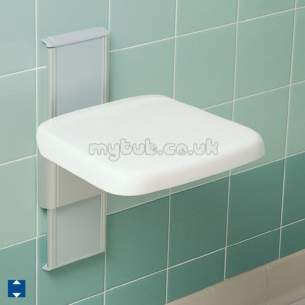 Armitage Grips Levers and Wastes -  Armitage Shanks Multi System S6625 F/hght Shower Seat Bu