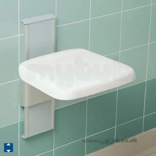Armitage Grips Levers and Wastes -  Armitage Shanks Multi System S6626 V/adj Shower Seat Aw