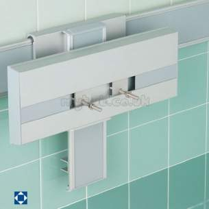 Armitage Shanks Commercial Sanitaryware -  Armitage Shanks Multi System S668167 Basin Bracket Sc