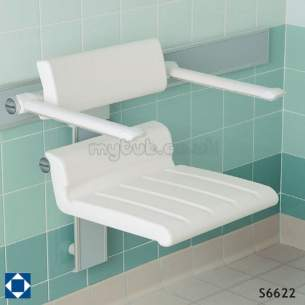 Armitage Grips Levers and Wastes -  Armitage Shanks Multi System S6622 Shower/chair Aw