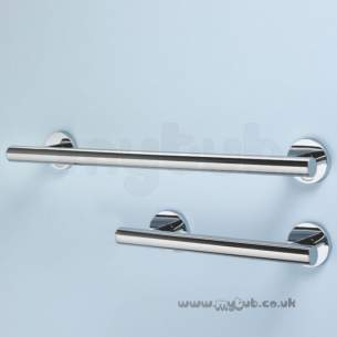 Armitage Shanks Commercial Sanitaryware -  Armitage Shanks Contemporary 21 45cm Handrail Ss Finish
