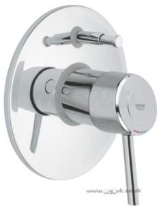 Grohe Tec Brassware -  Grohe Concetto 19346000 Trim For 33961 Hp