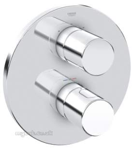 Grohe Shower Valves -  Grohe 3000c Rapido Trim C/w Aquadimmer