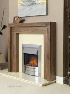 Flavel Electric Fires -  Flavel Ultiflame Essence Silver Fuecd0me
