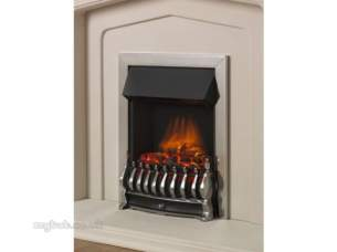 Flavel Electric Fires -  Flavel Ultiflame Trad Electric Chrome