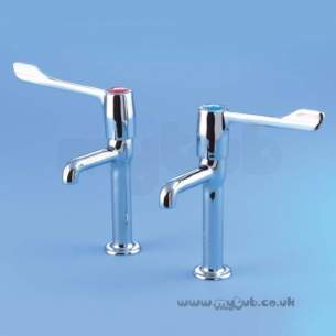 Armitage Shanks Commercial Brassware -  Armitage Shanks Markwik S8265aa 1/2 Inch H/n Pillar Taps Cp