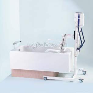 Armitage Shanks Commercial Sanitaryware -  Armitage Shanks Shetland S1513 No Tap Holes Bath Wh