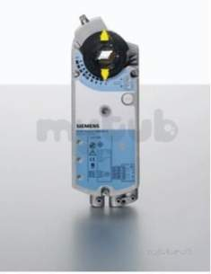 Landis and Staefa Control Systems -  Siemens Gbb131.1e Damper Actuator 24v 3 Position