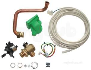 Worcester Domestic Gas Boilers -  Worcester Divertor Valve Kit 12i Sys
