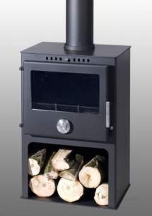 Trianco Free Standing Solid Fuel Boilers -  Trianco Newton 8kw Stove Incl Pedestal