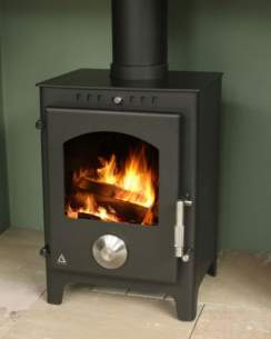 Trianco Free Standing Solid Fuel Boilers -  Trianco Newton 5kw Stove Incl Pedestal