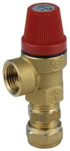 Baxi Domestic Gas Boilers -  Baxi 5121379 Na Mulifit Remote Secondary Relief Discharge Valve