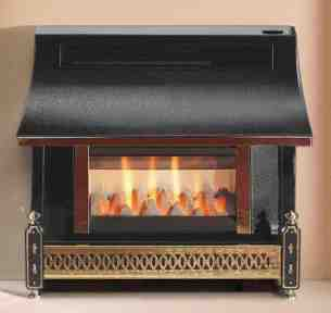 Robinson Willey Gas Fires and Wall Heaters -  Rob Willey Sahara Rs Pewter Ng A97031