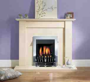 Robinson Willey Gas Fires and Wall Heaters -  Rw Supereco Slider Contemporary Chrme Ng