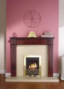 Robinson Willey Gas Fires and Wall Heaters -  Rw Supereco Manual Charisma Brass Ng