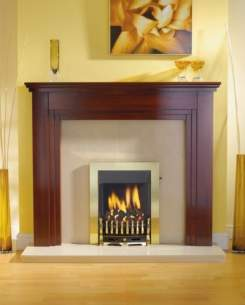 Robinson Willey Gas Fires and Wall Heaters -  Rw Supereco Manual Classic Brass Ng