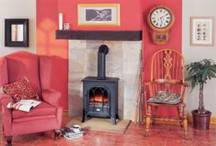 Dimplex Electric Fires -  Dimplex Rectory Optiflame Stove Black