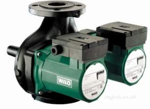 Wilo Light Commercial and Bronze Pumps -  Wilo Top Sd32/7 1ph Twin Head Pump Flanged