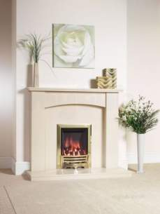 Be Modern Fire Surrounds -  46 Inch Payton Micro Marble Surround Marfil
