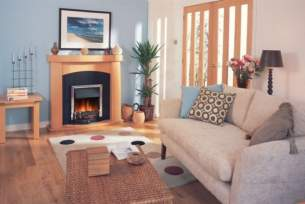 Dimplex Electric Fires -  Charlbury Chrome Inset Electric Fire