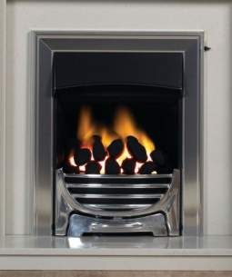 Baxi Gas Fires and Wall Heaters -  Valor Decadent Class 1 Coal Gas Chrome