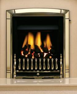 Valor Gas Fires and Wall Heaters -  Valor Dream 2 C1 Gas Fire Gold 0564111