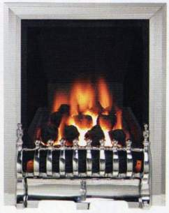 Be Modern Gas Fires -  Be-modern Challenger One Inset Chrome
