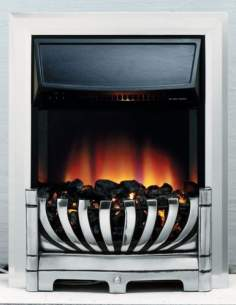 Be Modern Fires Gas and Electric -  Be-modern Lexus Electric Fire Chrome
