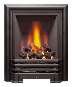 Be Modern Gas Fires -  Be-modern Savannah 120mm Coal Black