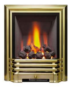 Be Modern Gas Fires -  Be-modern Savannah Dlxe 180mm Coal Brass