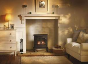 Broseley Multi Fuel Stoves -  Lincoln Balance Flue Gas Stove G-lin/bf