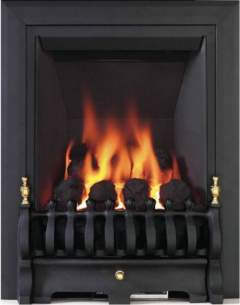 Be Modern Fires Gas and Electric -  Bm Classic Gas Fire 120mm-black 8125