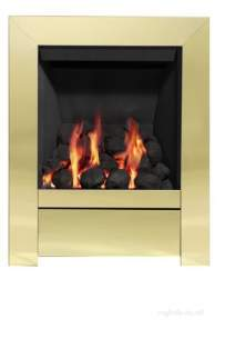Be Modern Fires Gas and Electric -  Bm Sensation Gas Fire 180mm-brass