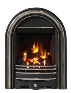 Be Modern Fires Gas and Electric -  Bm Abbey Gas Fire 120mm -pt. Polished
