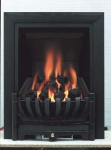 Be Modern Fires Gas and Electric -  Bm Avantgarde Gas Fire 120mm-black