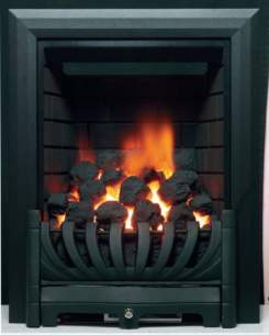 Be Modern Fires Gas and Electric -  Bm Avantgarde Gas Fire 180mm-black